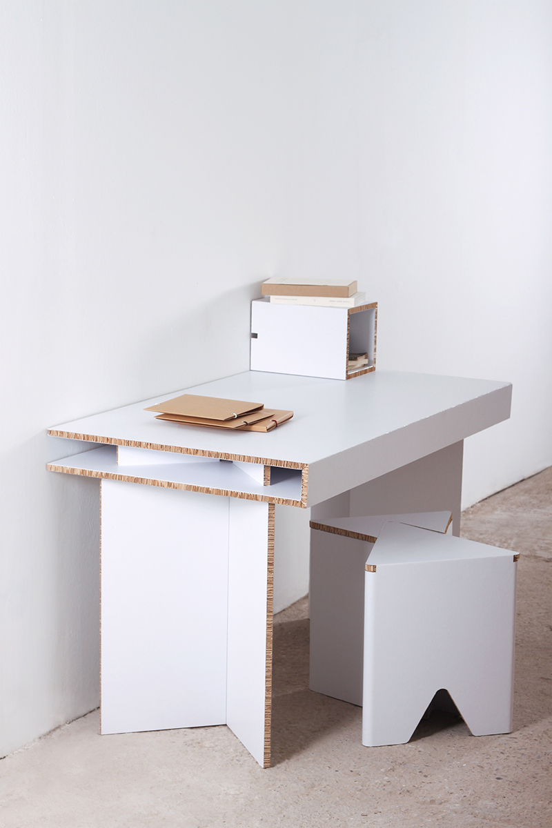 Mesa de cart n munerix - Mesas de carton ...