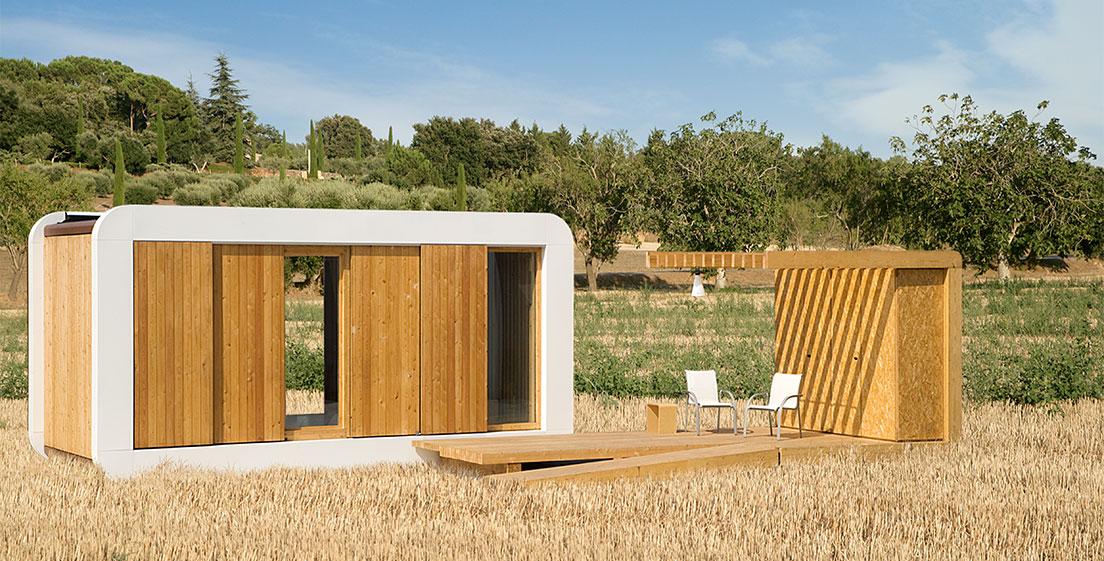 Modelos de mobile home casa m vil en los que desear s vivir - Casitas pequenas de madera ...