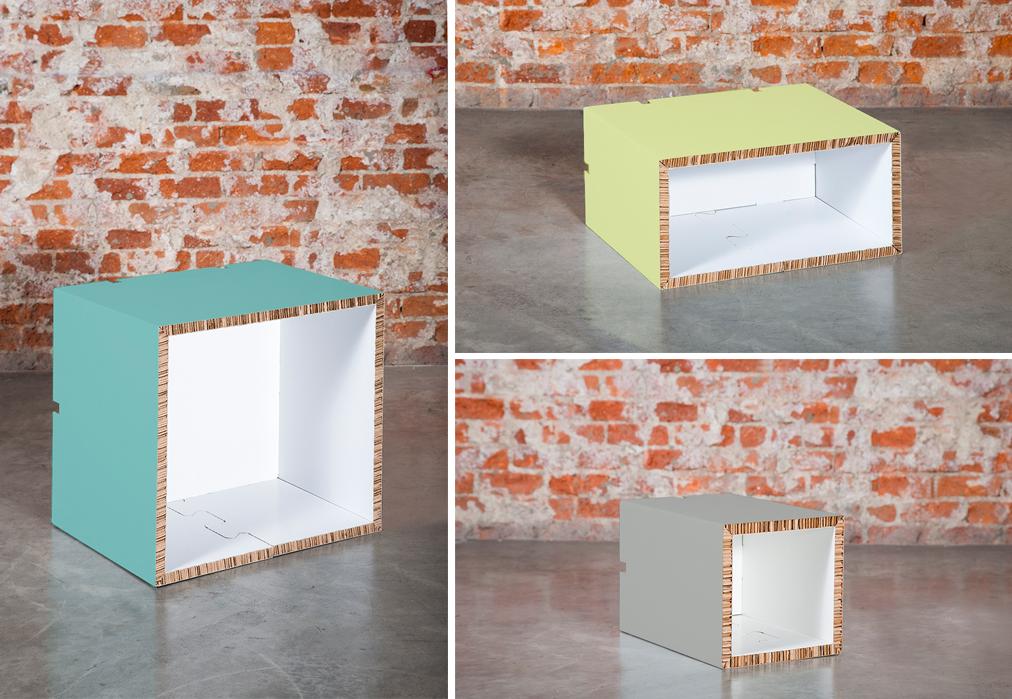 Muebles de cart n original y ecofriendly en tus regalos for Muebles de carton precios