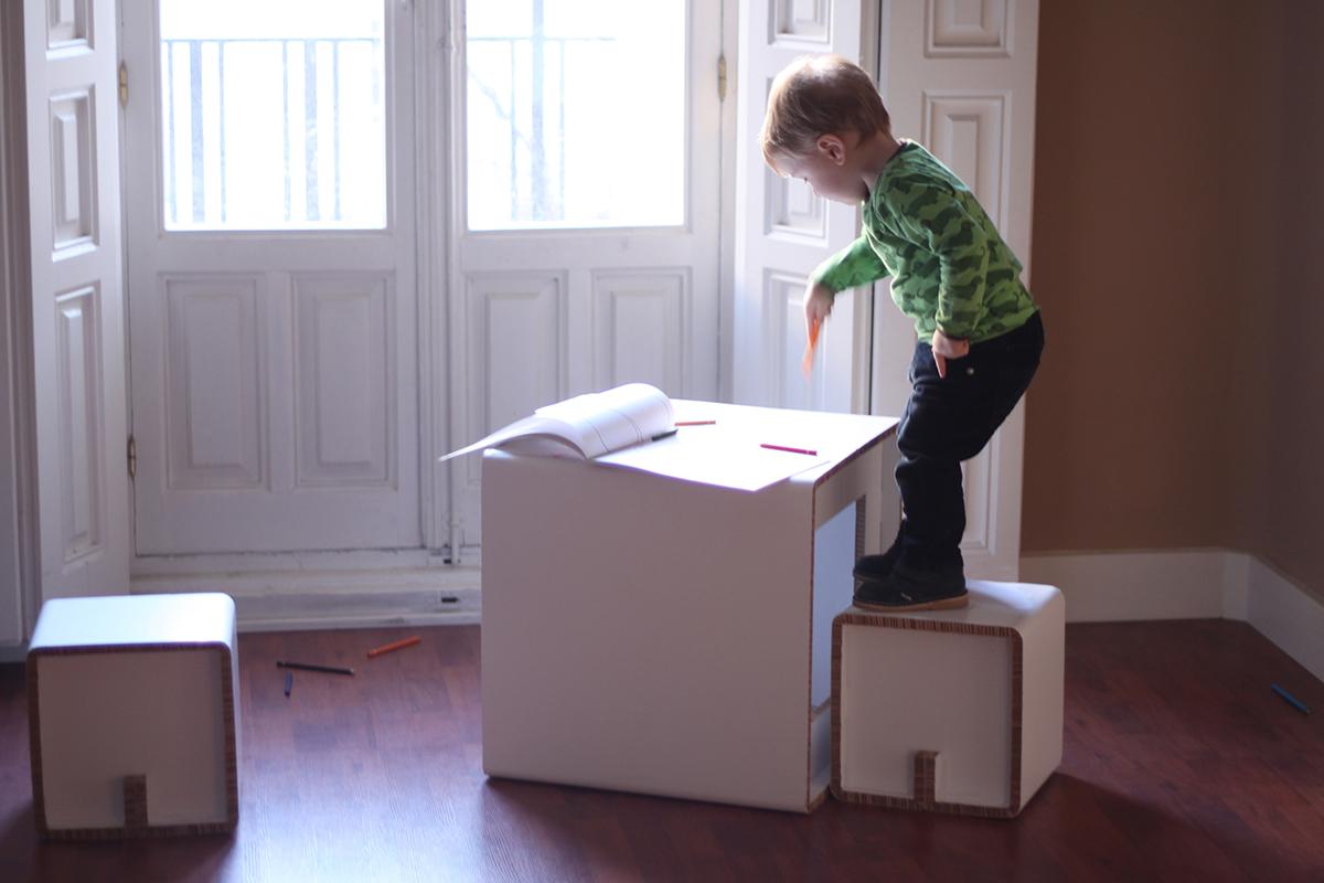 Muebles De Cart N Original Y Ecofriendly En Tus Regalos Navide Os  # Muebles De Caeton