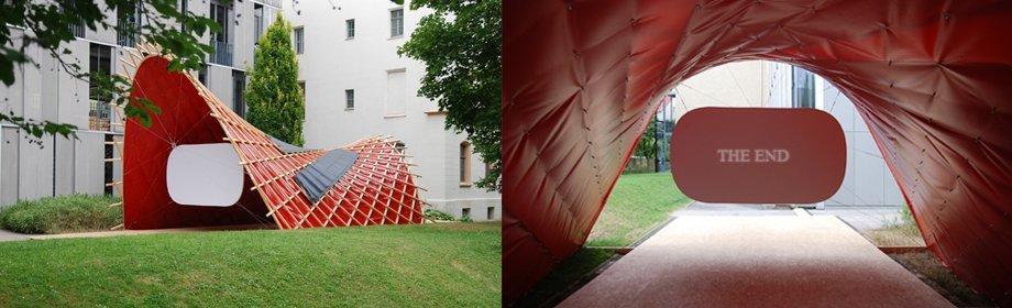 Proyecto Arquitectura efímera y solar de la Universidad Bauhaus de Weimar