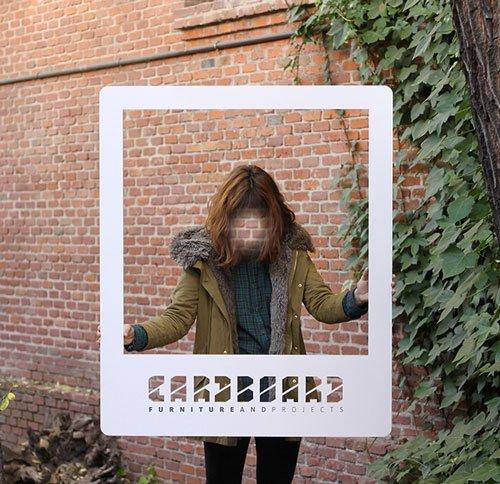 Photocall de cartón para fotografías