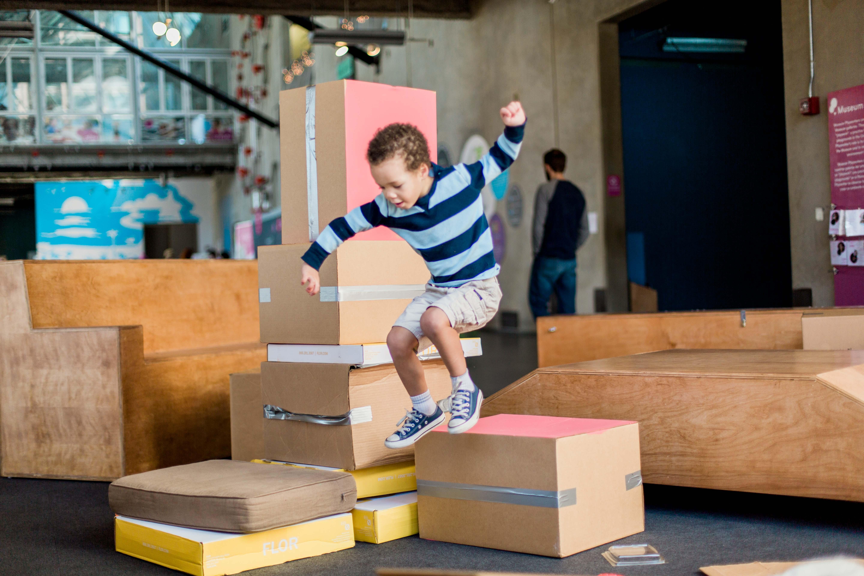 Muebles De Cart N Aventuras En Espacios Infantiles # Muebles De Caeton