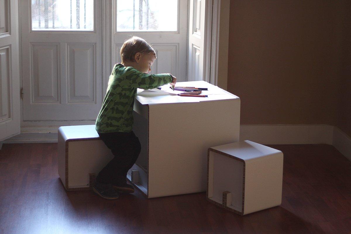Muebles de cart n aventuras en espacios infantiles - Muebles de carton ...