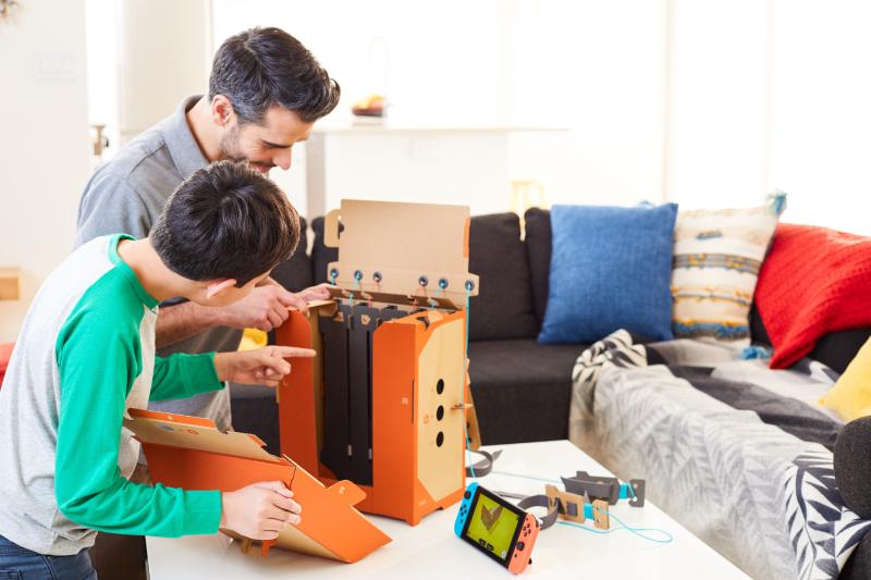 Cardboard-toy-con-cartón-Nintendo-Labo-robot-kit-láminas-Blog