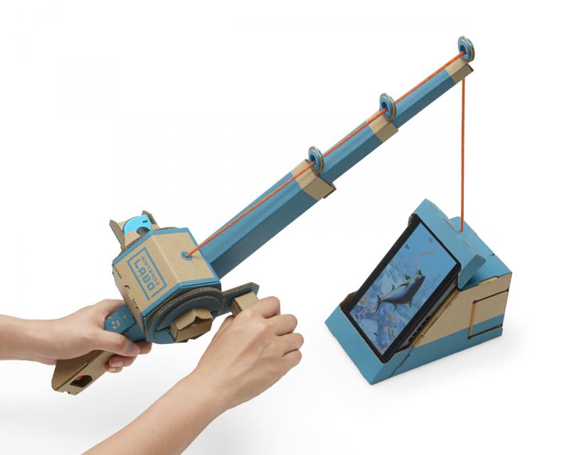 Cardboard-toy-con-cartón-Nintendo-Labo-caña-pescar-kit-variado-Blog-0.1