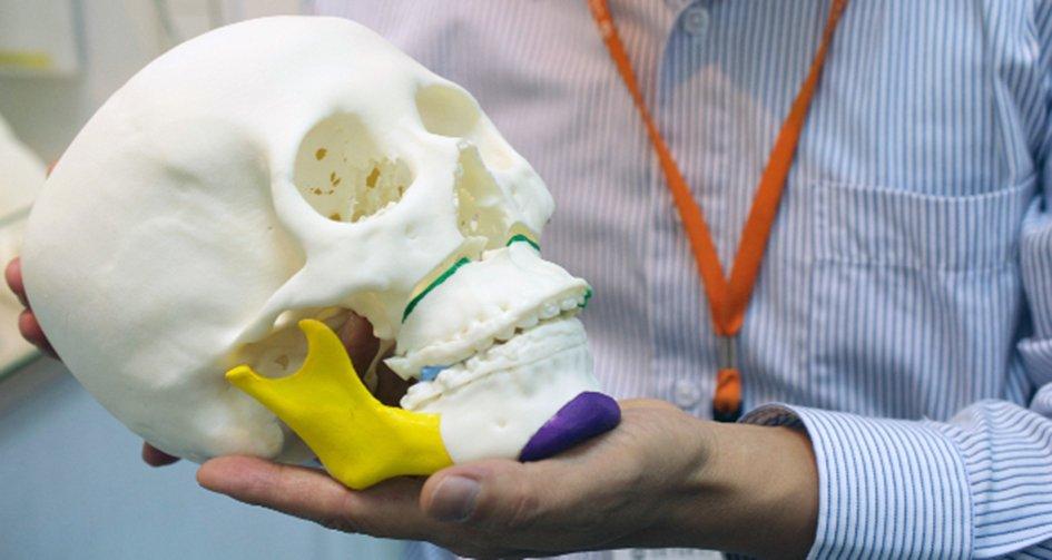 Pieza Impresión 3D para biotecnología y medicina . Procedente de www.3dnatives.com