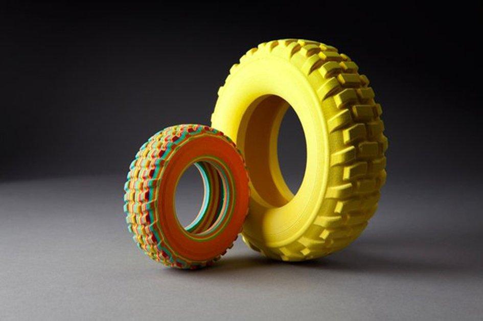 Impresión 3D con ARKe, Mcor Technologies. Imagen de www.tested.com