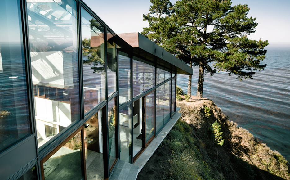 Fall house, en California (Fougeron Architecture).